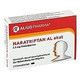 Naratriptan Al akut 2,5 mg Filmtabletten 2 stk
