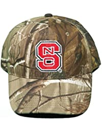 NEW! North Carolina State Wolfpack Buckle Back Hat Embroidered Camo Cap by NCAA Signatures Camo
