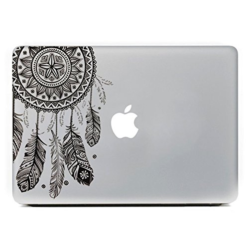 MacBook Aufkleber, Chickwin Creative Pattern dekorativ Film Notebook Sticker Skin personalisierte Aufkleber MacBook Decal (13.3/15.4/17 Zoll) (Träumer) (Los Notebook 17 Angeles)
