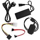 PC USB 2.0 zu SATA/IDE Konverter / Adapter Kit EAXUS