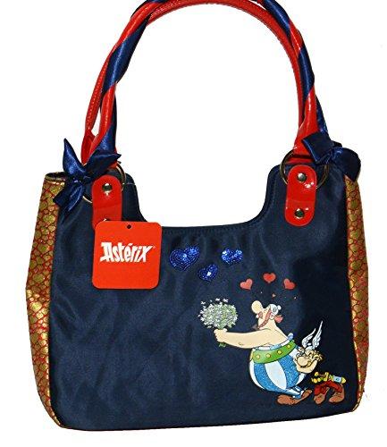Asterix shopper barchetta Asterix e Obelix Blu
