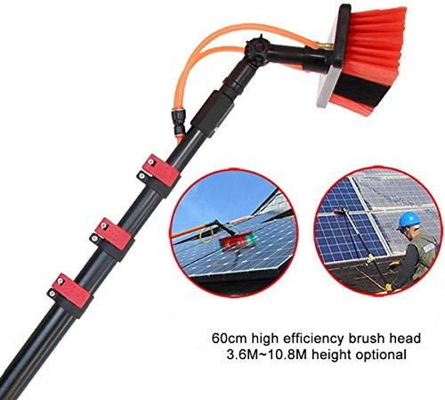 WERFFT Photovoltaik-Reiniger Spezialreiniger Mop für Photovoltaik-Module, Solar-Panel-Reinigungsbürste, tägliche Wartungsmittel für Photovoltaik-Module, Teleskop,7.2m