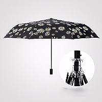 KHSKX Ripiegabile ad ombrello doppio uso di ombrelloni ombrellone femmina