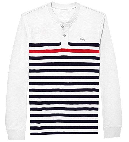 American Rag Men's Long Sleeve Striped Henley Shirt (Henley Sleeve Striped Shirt Long)