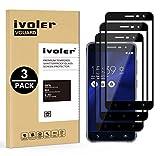 iVoler [3 Unidades] Protector de Pantalla para ASUS Zenfone 3 ZE552KL 5.5 Pulgadas, [Cobertura Completa] Cristal Vidrio Templado Premium, [Dureza 9H] [Anti-Arañazos] [Sin Burbujas]