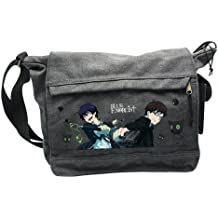 Blue Exorcist (AO No Exorcist) Big Size Funda Messenger Bag bolso maletín clásico: Rin & Yukio