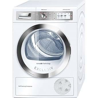 Bosch WTY87783 Autonome Charge avant 8kg A+++ Blanc - sèche-linge (Autonome, Charge avant, Condensation, Blanc, Rotatif, toucher, Droite)