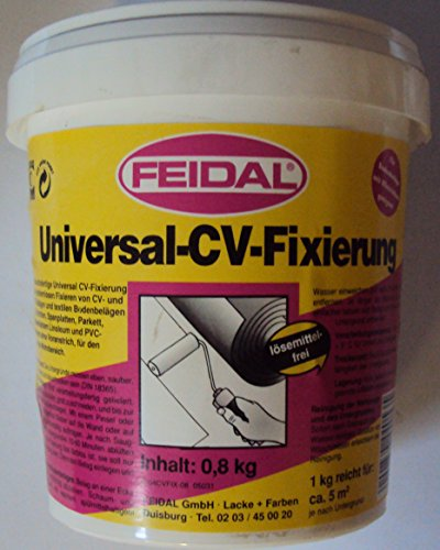 800g FEIDAL Universal-CV-Fixierung Zum dauerhaften und schonenden Fixieren von CV-, PVC-, und Textilbelägen