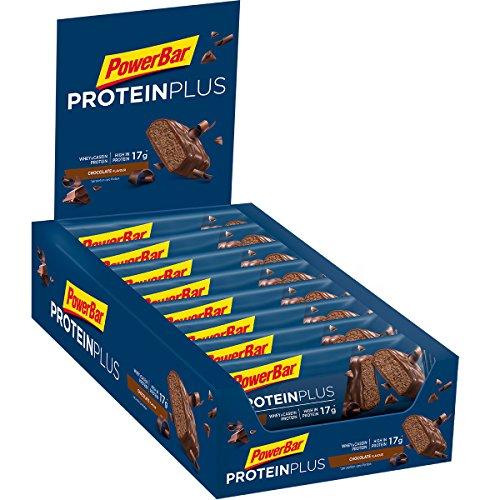 Powerbar 30% Protein Plus Chocolate - 15 unidades de 55g (Total: 825 gr)