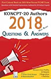 KONCPT-20 Authors 2018 most Recent Questions & Answers