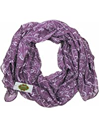 New with Tags Berry Print Scarf Women Scarves Large Shawl (Purple)