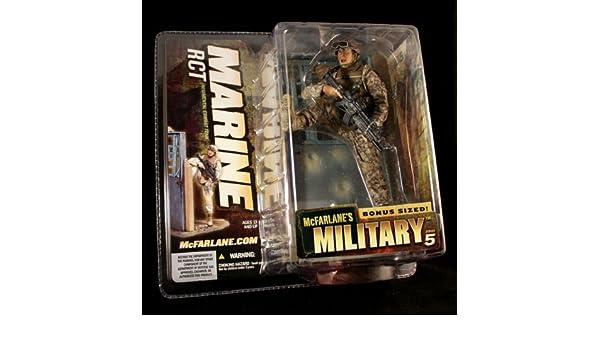 MARINE RCT McFarlanes Military Series 5 Action Figure /& Bonus Sized Display CAUCASIAN VARIATION