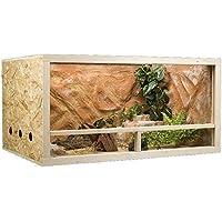 MyPets® Terrarium GECKO XXL 150 x 60 x 60 cm OSB Holz Seitenbelüftung - Top Qualität vom Fachhändler
