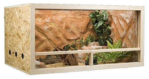 MYPETS Terrarium Gecko XXL 150 x 60 x 60 cm OSB Holz Seitenbelüftung - Top Qualität vom Fachhändler