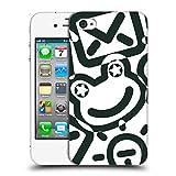 Head Case Designs Offizielle Turnowsky Gekritzel Schwarz Und Weiss Muster 2 Ruckseite Hülle für iPhone 4 / iPhone 4S
