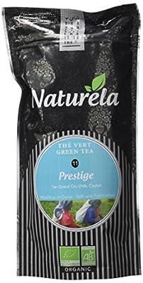 NATURELA Thé Vert Prestige Bio Ceylan N° 11 80 g - Lot de 6