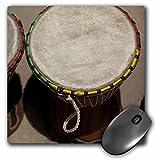 3DROSE LLC 20,3x 20,3x 0,6cm mouse pad, Gambia, Banju, fusti in legno, musical instrument-af18CMI0063-Cindy Miller Hopkins (MP 73883_ 1)