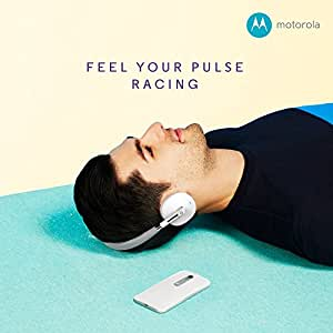 Motorola S505 Moto Pulse Wireless On-Ear Headphone (White)