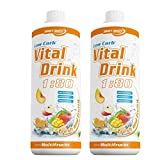 Best Body Nutrition Low Carb Vital Drink 2 x 1 Liter 2er Pack Multifrucht