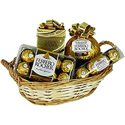 Geschenk Set Golden Christmas mit Ferrero Rocher (4-teilig)