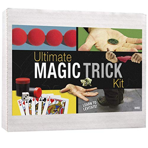 Dvd Media-cube (Magic Makers 100+ Tricks Complete Kit: Everything Today's Magician Needs! (Deland's Automatic Deck, Sponge Balls, Thumb Tip, Silk, Magic Makers Crazy Cube, and Two Dvds with Hours of Instruction) (Classic Red) by Magic Makers)