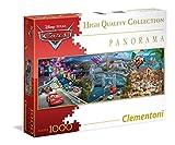 Clementoni - 393480 - Panorama Puzzle - Cars - 1000 Pièces