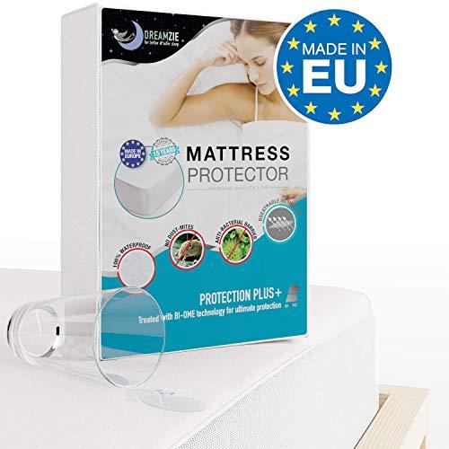 Coprimaterasso impermeabile matrimoniale 160 x 200 cm proteggi materasso traspirante, antiacari, antibatterico - copri materassi con trattamento nuova generazione - 15 anni di garanzia