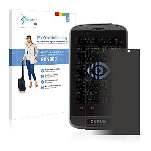 Vikuiti Blickschutzfolie GXN800 von 3M für Cyrus CS 18 Bildschirmschutzfolie - Privacy, Anti-Spy, Sichtschutz