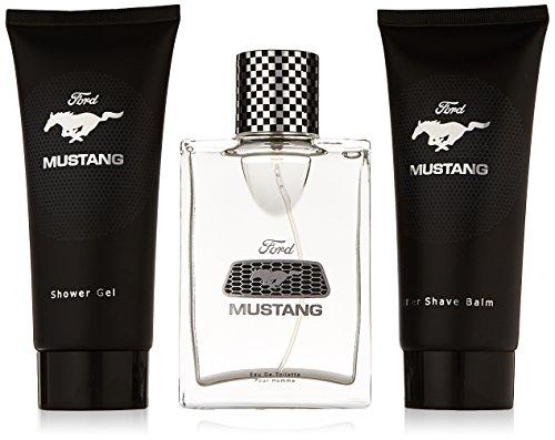 MUSTANG Gift Set 100ml EdT Spray + 100ml AS Balm + 100ml Shower Gel