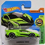 Hot Wheels 2017 HW Exotics Lamborghini Veneno Green/Black 165/365...