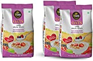 Disano High in Protein and Fibre Oats Pouch, 1 kg + Disano Oats with High in Protein and Fibre Pouch, 2 kg