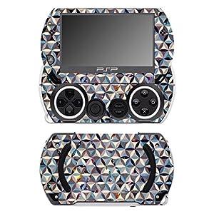 Disagu SF-14232_1229 Design Schutzfolie für Sony PSP Go Motiv Buntes Muster 06″ klar