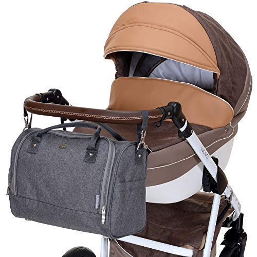 LCP Kids Wickeltasche SYDNEY MARRON - 8