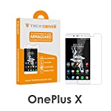 One Plus X OPX Premium Tempered Glass Screen Protector [9H] by Tech Sense Lab – Full HD, Shatterproof & Anti Scratch Screen Guard OnePlus X