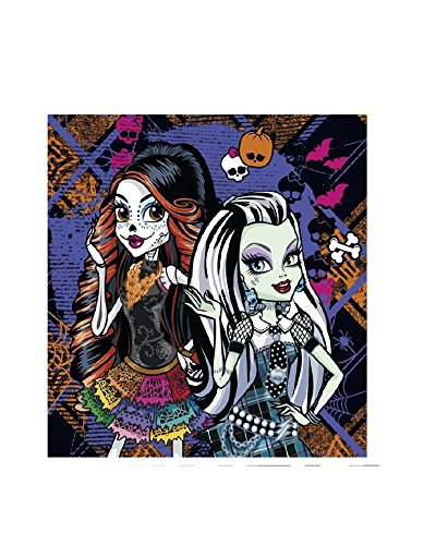 amscan-997960-20-tovaglioli-monster-high-cemetery-33-x-33-cm