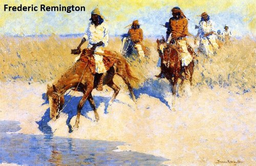 42-color-paintings-of-frederic-remington-american-impressionist-painter-illustrator-sculptor-and-wri