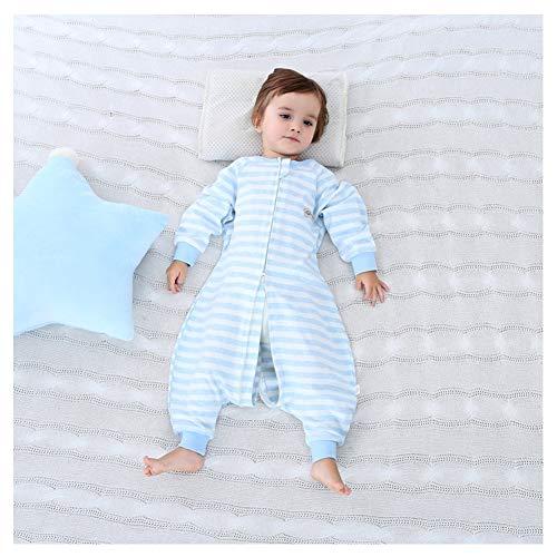 WMYJXD Babyschlafsack, Sommer Babyschlafsack, Einteiliger Langarm Schlafsack, Locker, Stilvoll, Komfortabel, Benutzerfreundliches Design, Geeignet Für Kleinkinder Von 0-4 Jahren,B,70CM