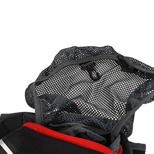 Docooler Spalla Impermeabile All'aperto Bici zaino Montagna Bicicletta Viaggi in Campeggio in Esecuzione Acqua Borsa Nero