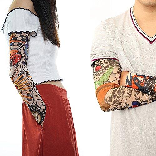 6-Tatouages-manchettes-pour-homme-et-femme-bras-et-jambe-France-en-Stock
