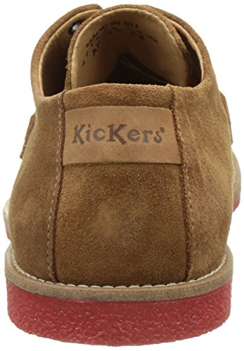 Kickers Bachalcis, Derbys Homme Marron (Camel)