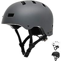 Vihir Erwachsene Fahrradhelm Skaterhelm E-Scooter E-Roller BMX Fahradhelm Herren Damen Sport Helm für Männer & Frauen…