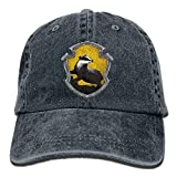 Yuerb Funny Hat Baseball Cap Outta Hufflepuff Adjustable Cotton Cap