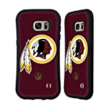 Head Case Designs Offizielle NFL Fussball Washington Redskins Logo Hybrid Hülle für Samsung Galaxy S7 Edge