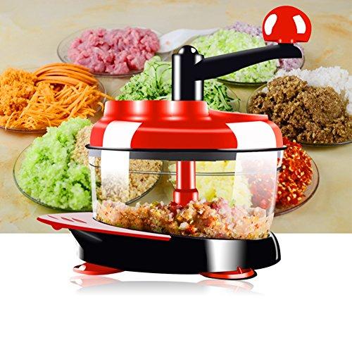 Glodenbridge 1-PACK Universal Manuelle Fleischwölfe Gemüseschneider Egg Mixer Shredder Griff Fleischwolf Küche Werkzeug Küchenmaschine