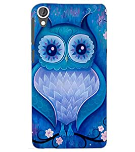 HTC DESIRE 820 OWL Back Cover by PRINTSWAG