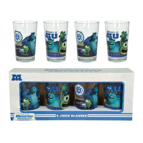 Monsters University Saftbecher, 4 Stück ()