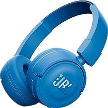JBL T450 - Auriculares supraaurales para cable, Azul
