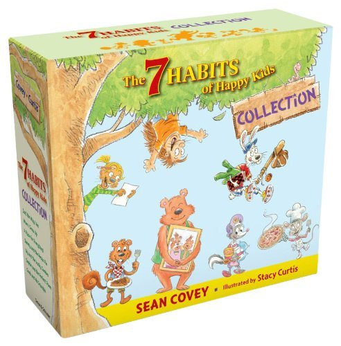 The 7 Habits of Happy Kids Collection: Just the Way I Am; When I Grow Up; A Place for Everything; Sammy and the Pecan Pie; Lily and the Yucky and the Perfect Poem; Goob and His Grandpa by Sean Covey(2013-11-12) (Und Pecan Pie Sammy)