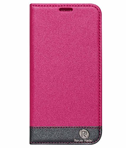 DMG PopularRider Magnetic Wallet Flip Cover Stand Case For Samsung Galaxy S5 G900 (Pink)  available at amazon for Rs.329