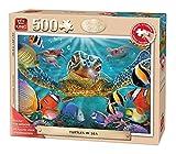 King 14.056,4cm Schildkröten im Meer Senior Puzzle für Erwachsene (500-large Stück)